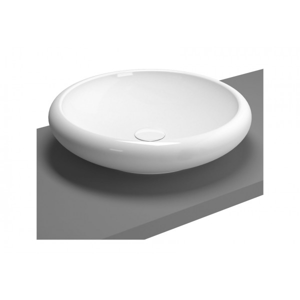 Çanak lavabo, 50 cm Armatür deliksiz, su taşma deliksiz,