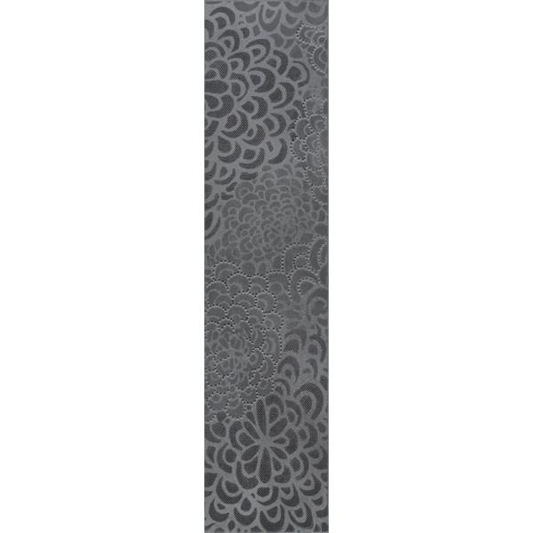 15x60 Bloom Bordür 1 Antrasit Parlak