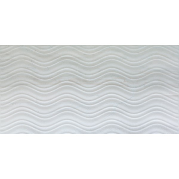 30x60 Blast Dekor Beyaz Mat