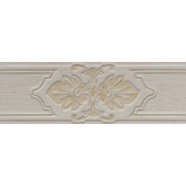 11x33 Provence Bordür 2 Beyaz Mat
