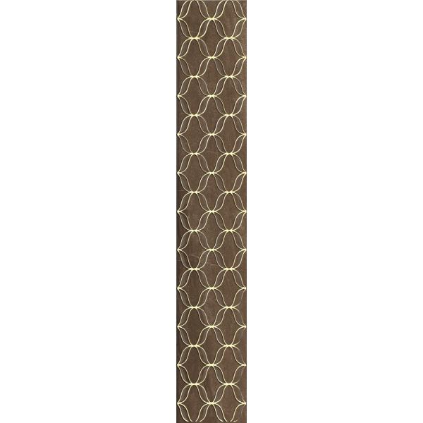 10x60 Ethereal Bordür 1 Kahve Parlak