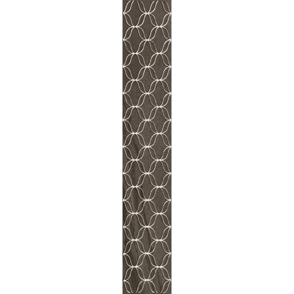 10x60 Ethereal Bordür 1 Gri Parlak