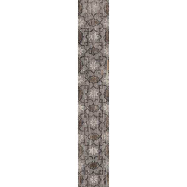 20X120 Pera Dekor Gri Mat